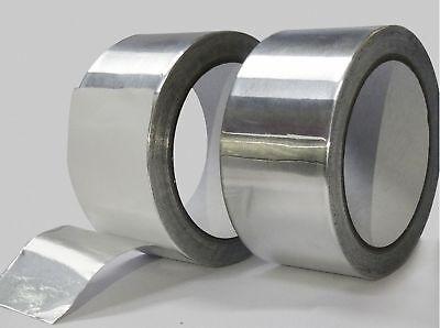 82ft X 1.88 Aluminum Foil Heat Shield Tape Reflector Sealing Adhesive 25m48mm