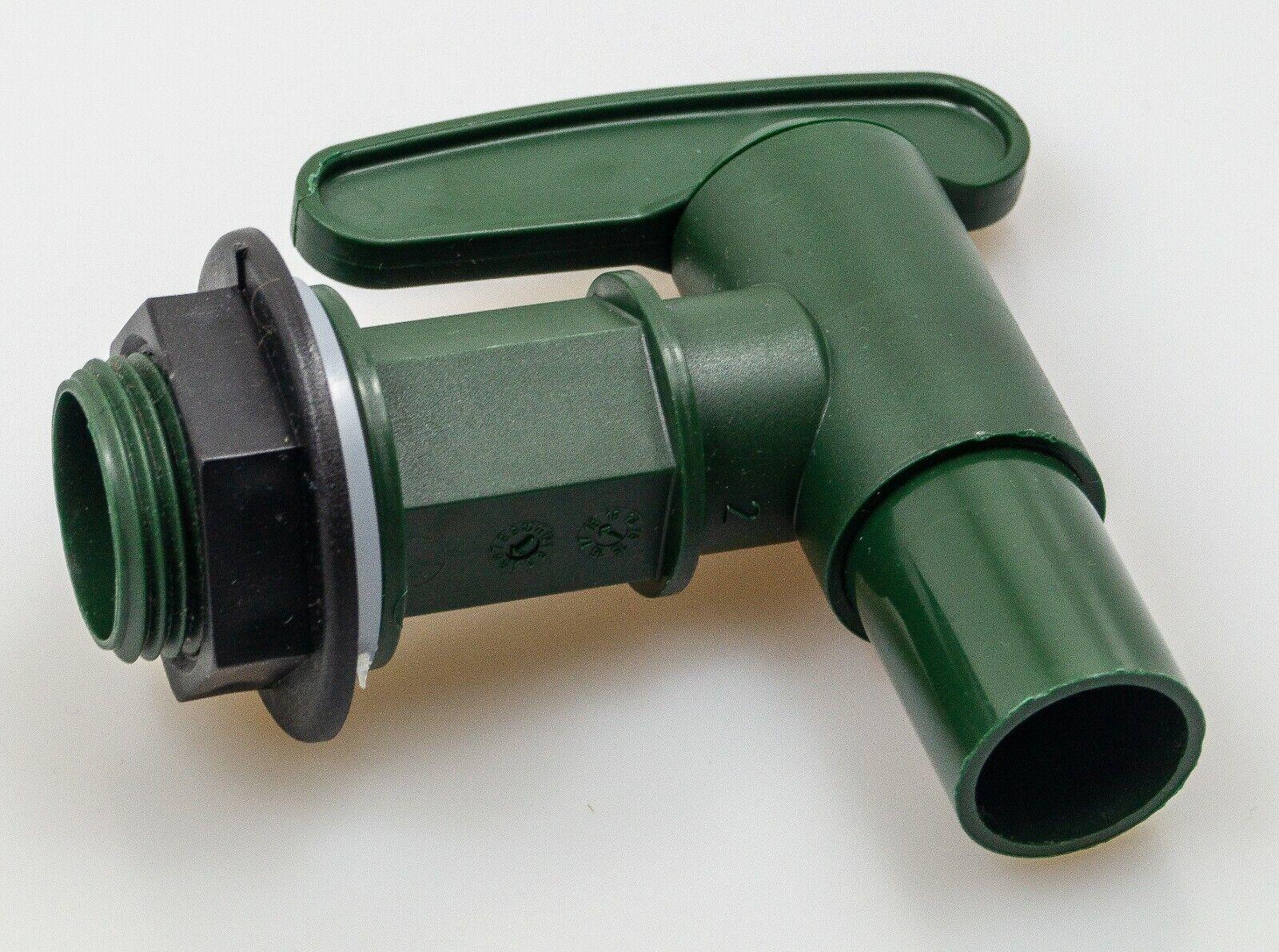 Garantia Auslaufhahn GRÜN (Wasserhahn), 19 mm (3/4