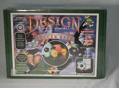 Design Your Own Soccer Ball (Design your own Regulation Size Soccer Ball includes pump, paint and)