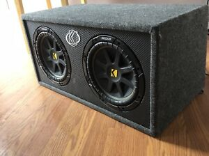 """2 10"""" kicker subs and all that goes with."""