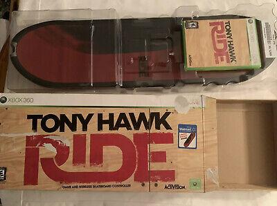 Tony Hawk Ride Xbox 360 Game and Wireless Skateboard Controller