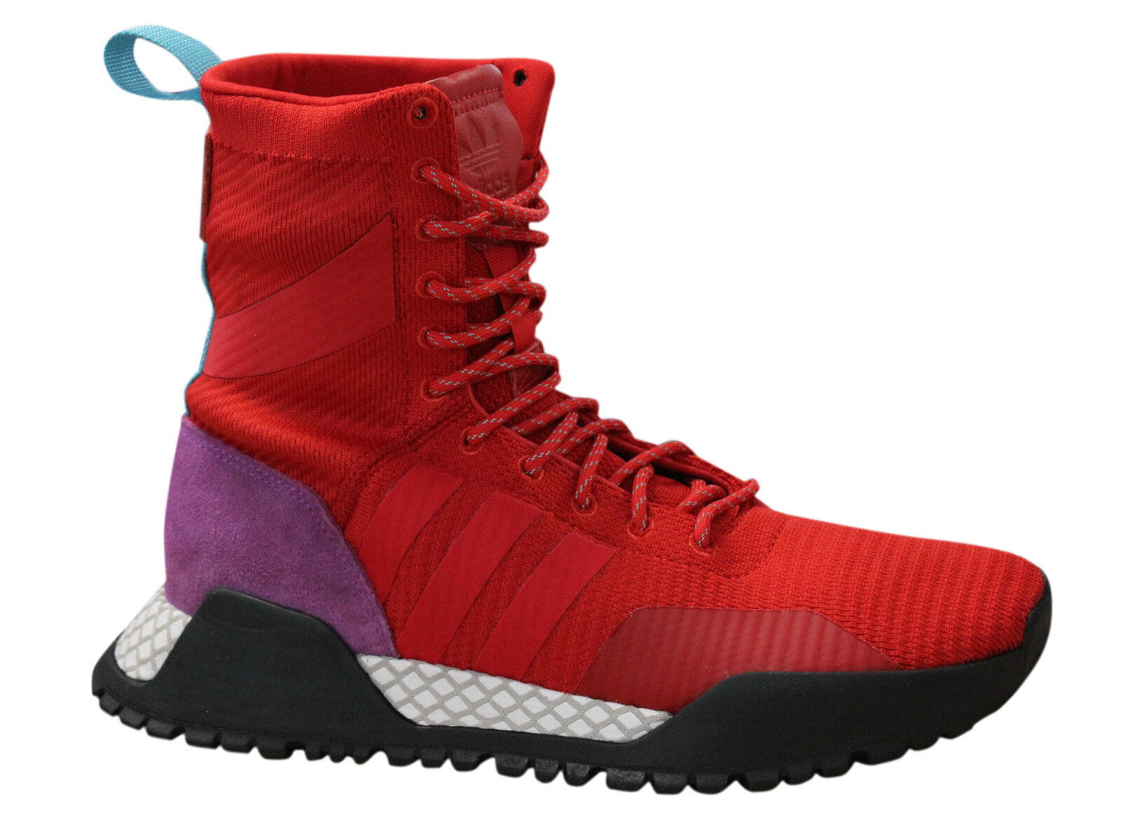adidas Originals A.F 1.3 Primeknit Boot Schuhe Rot für