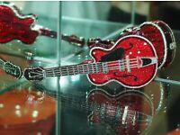 Harvey OFFICIAL DEVIL'S DAUGHTERS White Foil Guitar Pick As Used Danny B