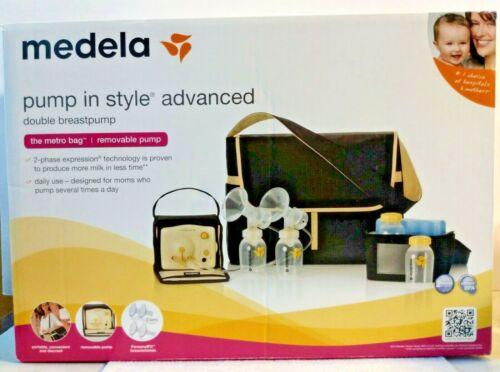 Medela Pump In Style Advanced Double Electric Breast Milk Pump Metro Bag Sealed