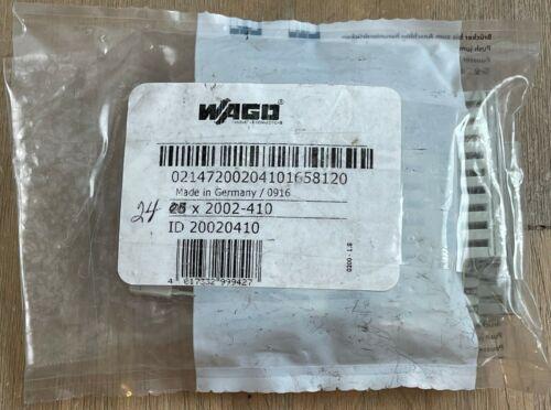 WAGO 2002-410 10 POLE JUMPER BAR 800V 24A NEW LOT OF 24