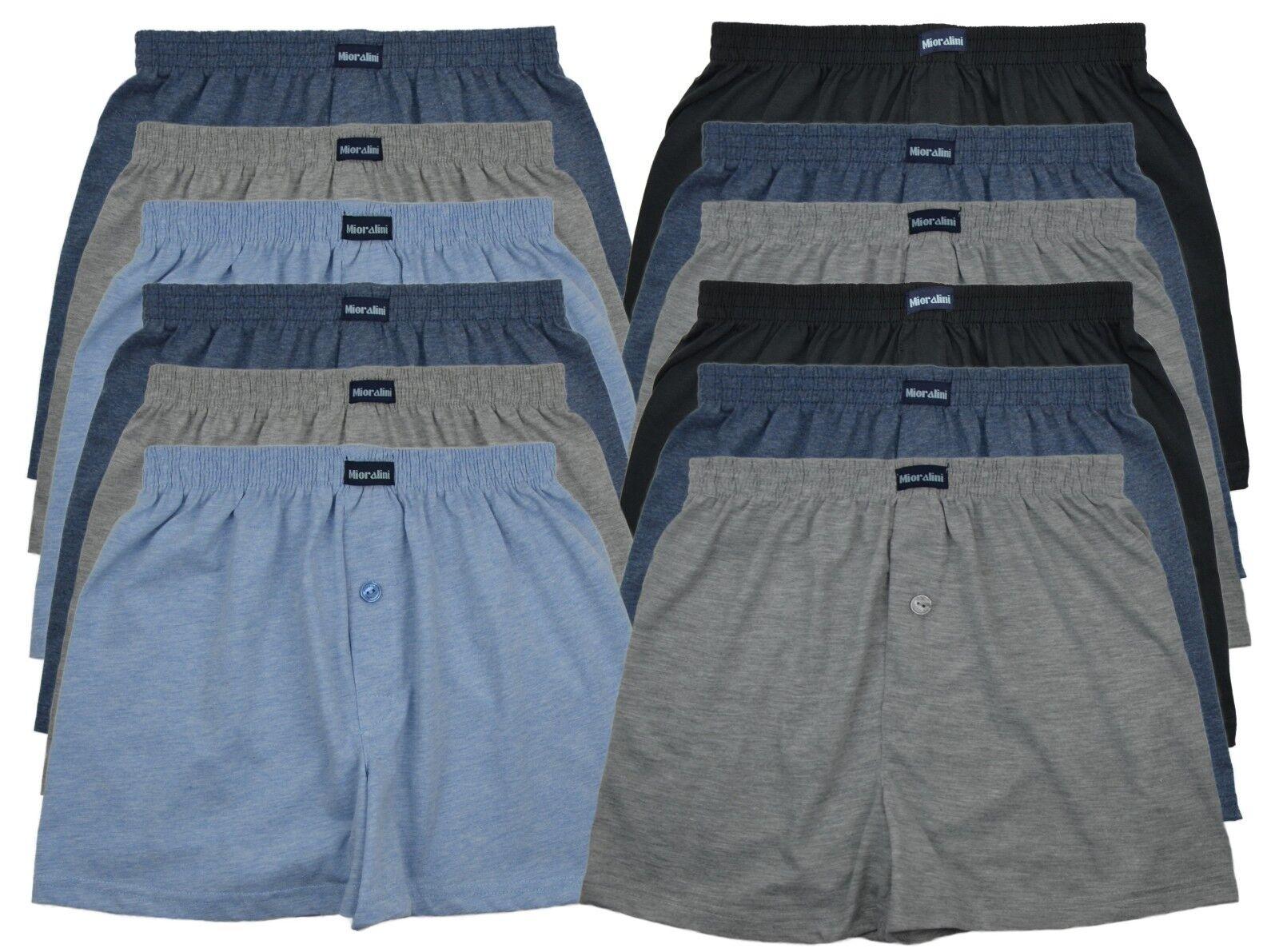 f2c1f712b4 TOPANGEBOT ♛ 6 oder 12 Herren Boxershorts Boxer Shorts Pants Short  Unterhose*