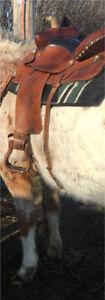 Western Saddle and tack
