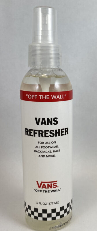 Vans Refresher Spray For Footwear, Hats, Backpacks And More