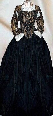 Lace Renaissance Pirate Corset Halloween Womens Velvet