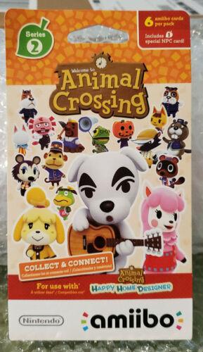 Animal Crossing Amiibo Cards Series 2 #101-200 You Choose Free Shipping