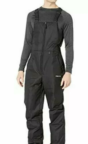 Arctix Men's Essential Bib Overall, Black, 4X-Large/Regular