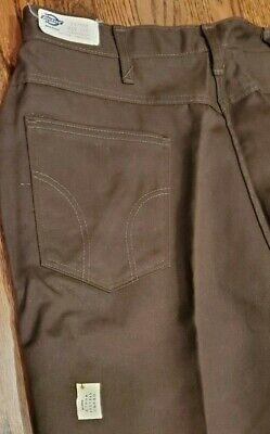 Vintage Dickies Work Pants Hunter Green IR Made in USA 874 Original Traditional