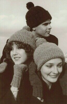 *Knitting Pattern by A Classic Straker Design Basic Hat & Four-Needle Mittens Basic Hat Knitting Pattern