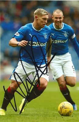 RANGERS: MARTYN WAGHORN SIGNED 6x4 ACTION PHOTO+COA