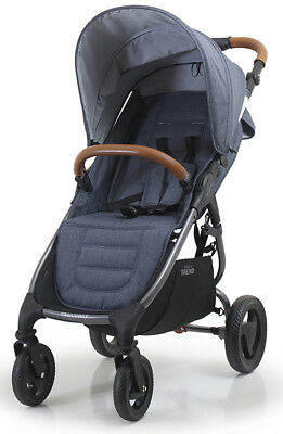 Valco Baby Snap 4 Trend Compact Fold Lightweight Single Stroller Denim NEW for sale  Norwalk