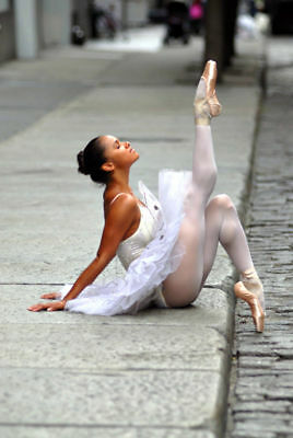 Misty Copeland Prima Ballerina Quality Canvas Print Painting Original Poster Art