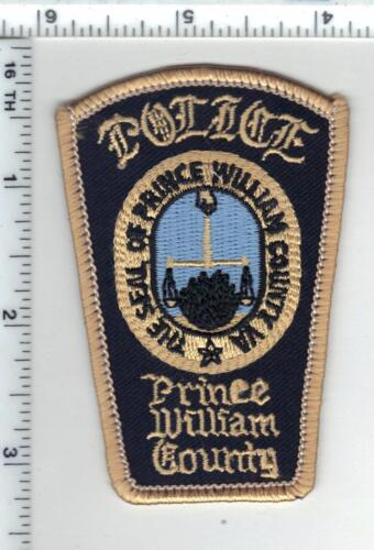 Prince William County Police (Virginia) Cap/Hat Patch - new