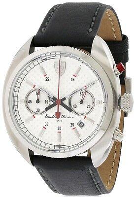 Ferrari Scuderia Leather Mens Watch 0830241