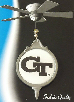 GEORGIA TECH YELLOW JACKETS CEILING FAN OR LIGHT PULL 24618 college home decor