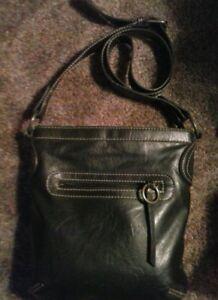 Liz & Co. Black crossbody purse