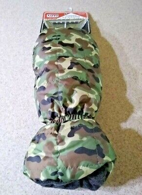 Saddlebred Mitten Style Ice Scraper with Warm Plush Lining Camouflage Pattern