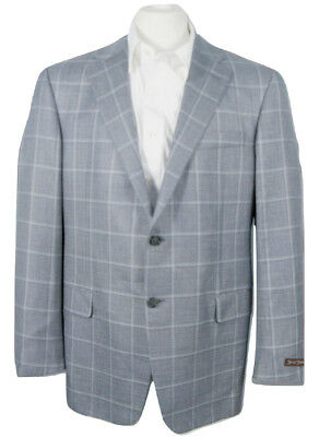 NEW $1295 Hickey Freeman Wool Silk & Linen Sportcoat (Blazer)!  40 Long USA Made