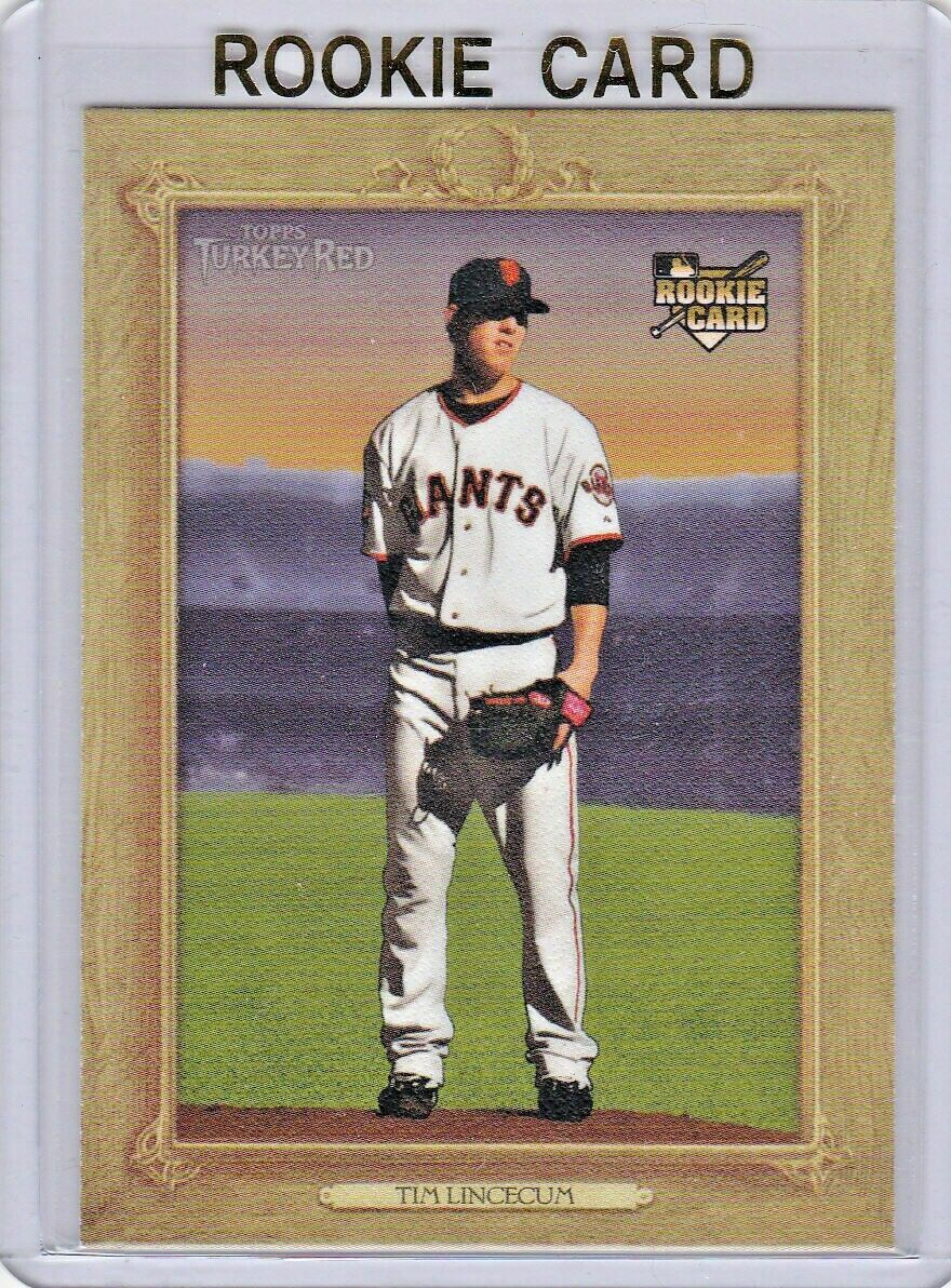 TIM LINCECUM 2007 Topps Turkey Red RC 88 Card Mint From Pack - $50.00