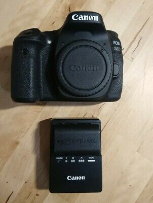 Canon EOS 80D 24.2MP Digital SLR Camera. Body Only. Excellent hardly used.