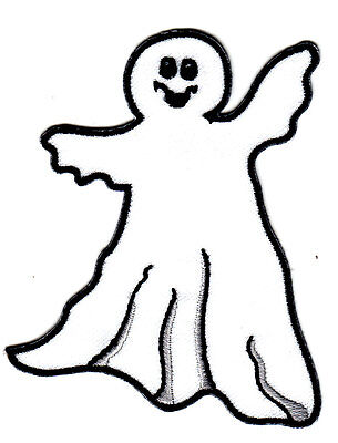 HALLOWEEN GHOST Iron On Patch Scary Ghosts  - Scary Ghosts