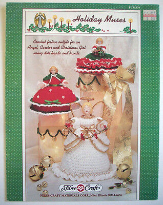Christmas Holiday Muses outfits for angel caroler girl  crochet  pattern  - Angel Outfits For Girls