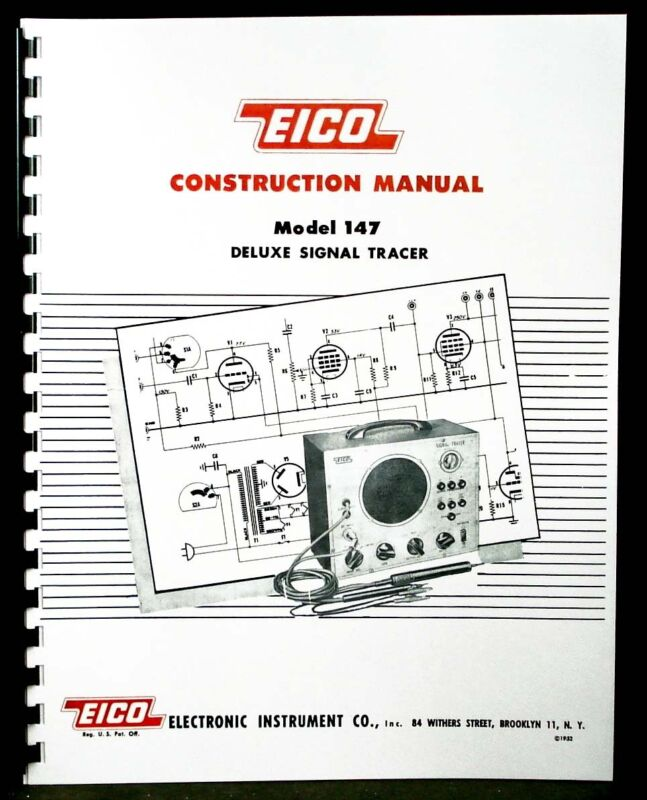 EICO Model 147 Deluxe Signal Tracer Construction Manual