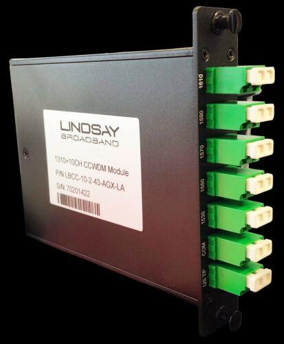 Lindsay Broadband LBCC-10-2-43-AGX-LA  1310+10CH CCWDM Module - 2 Per Box
