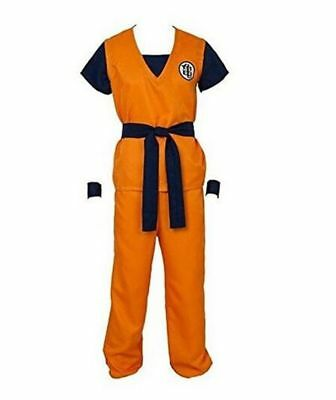 Kukucos Adult Unisex Anime Dragon Ball Z Son Goku Turtle Senru Cosplay Costume L