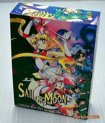 *NEW/SEALED* Sailor Moon DVD LIMITED EDITION #1 Box Set New in USA