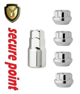 Locking Wheel Nuts Fits DAIHATSU DOMINO GRAND MOVE HI-JET ALL MODELS M12 x1.5mm