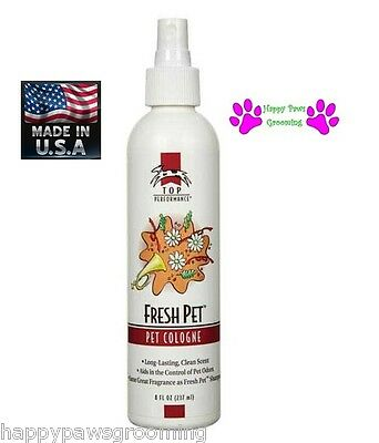 Top Performance PRO Grooming FRESH PET Dog Cat Cologne&Deodorant MIST Pump (Fresh Pet Cologne)