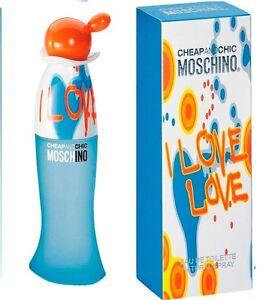 MOSCHINO I LOVE LOVE CHEAP AND CHIC DONNA EDT NATURAL SPRAY - 30 ml - Ancona, Italia - L'oggetto può essere restituito - Ancona, Italia