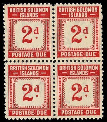 "SOLOMON ISLANDS J2 (SG D2) -Numeral of Value ""Postage Due"" (pa30258)"