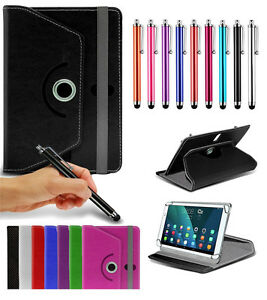 For-HTC-Flyer-7-034-Tablet-Case-Cover-360-Rotating-Stand-Wallets-Pen