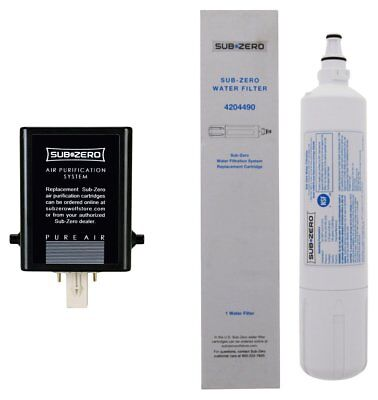 Sub-Zero Refrigerator Replacement Water and Air Filter Combo Pack Water Filter Combo Pack