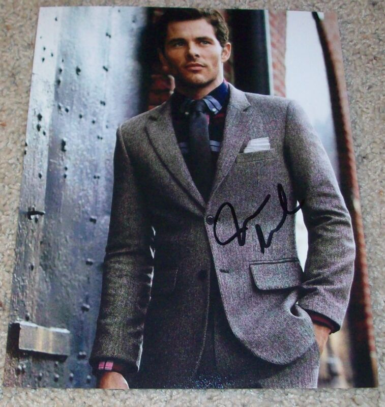 JAMES MARSDEN SIGNED WESTWORLD X-MEN 8x10 PHOTO C w/PROOF AUTOGRAPH