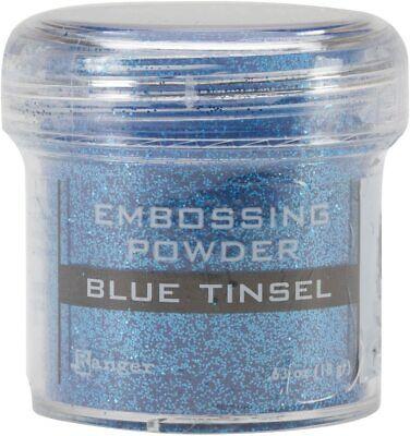Ranger Embossing Powder 1oz Jar-Blue Tinsel