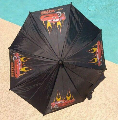 Lightning McQueen Kids Umbrella with Flames Boys or Girls A Disney-Pixar Movie