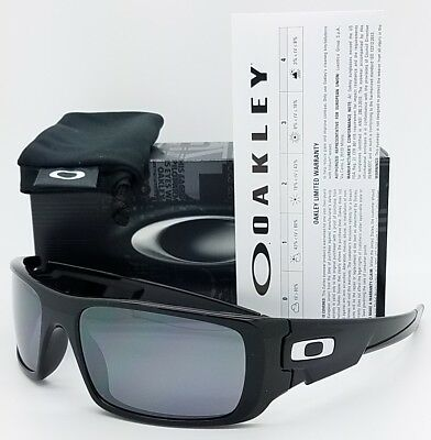 New Oakley Crankshaft Sunglasses Polished Black Iridium 9239 01 Crank Authentic