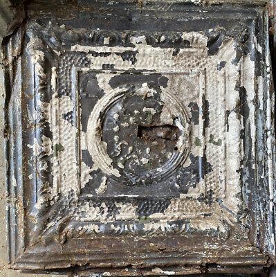 Vintage Antique 1800/'s Tin Ceiling Tile Arts Crafts Bedroom Kitchen Bathroom!