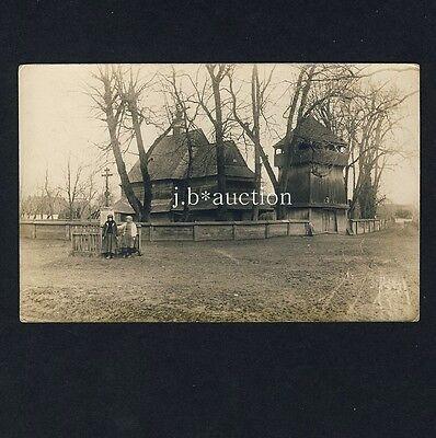 UKRAINE Polen Galizien Österreich-Ungarn / Holz-Kirche / Church * Foto-AK u 1915