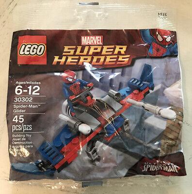 Lego Marvel Super Heroes Spider-Man Glider 30302 Polybag Sealed