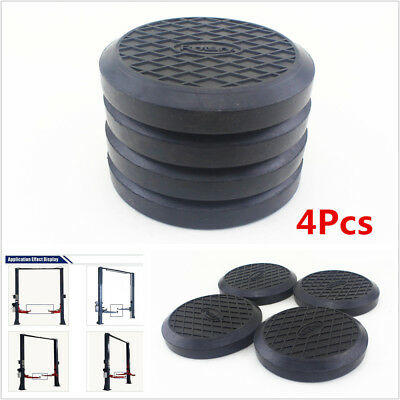 4Pcs 125mm Round Rubber Arm Pads Lift Accessories Pad For Car Truck Lift Hoist