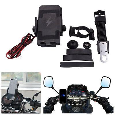 Motorcycle Wireless Charging Mobilephone Bracket Shockproof Riding Fixed Bracket