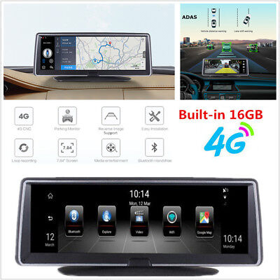 """7.84"""" Touch 4G ADAS Android 5.1 Car GPS Nav WIFI Bluetooth DVR Camera Recorder for sale  Shipping to Canada"""
